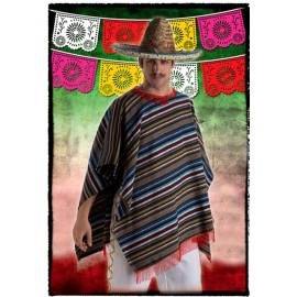 40341 PONCHO MEXICANO ADULTO