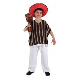0200 DISFRAZ MEXICANO INFANTIL