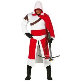 Disfraz de Templario Medieval Adulto Hombre