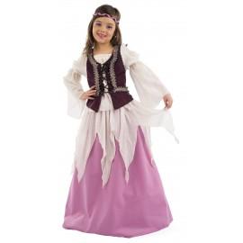 Disfraz Medieval Julieta Infantil Niña