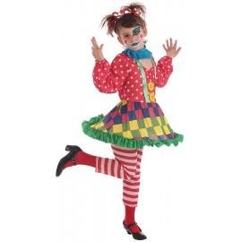 Disfraz Payasa Spotty Infantil Niña