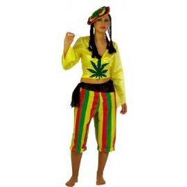 Disfraz Hamaicana Adulto Mujer