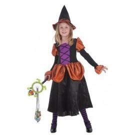 Disfraz Bruja Simpática Infantil Niña