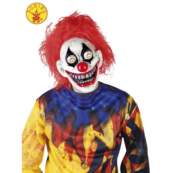 Mascara de Clown (Payaso) con Ojos Moviles Halloween