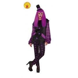 Disfraz de Payasa Malvada Adulto Halloween