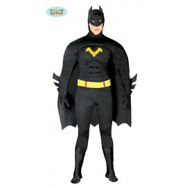 DISFRAZ HEROE NEGRO (Batman)