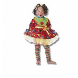 Disfraz Payasina Infantil Niña