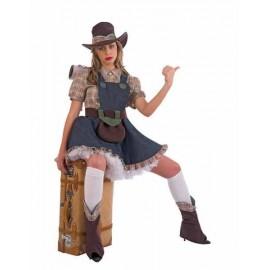 Disfraz Lolita Texana Adulto Mujer