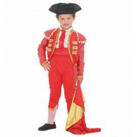Disfraz Torero con Montera Infantil Niño