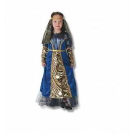 Disfraz Dama Medieval Infantil Niña