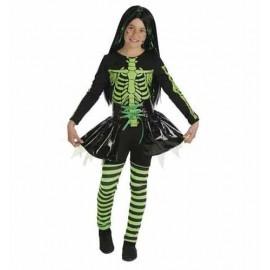 Disfraz Bruja Verde Infantil  Niña