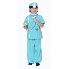 Disfraz Doctor Medico Infantil Niño