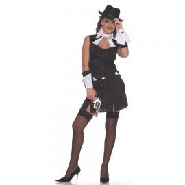 Disfraz de Lady Ganster Adulto