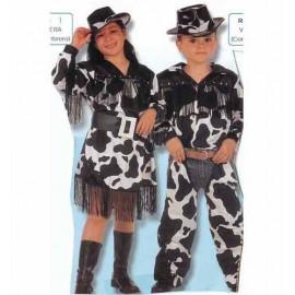 Disfraz Vaquero Vaca Infantil Niño