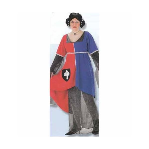 Disfraz Dama Cruzada Adulto Mujer