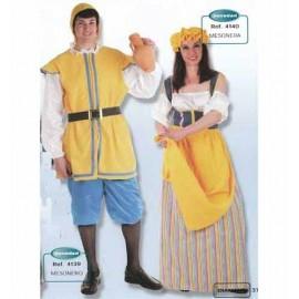 Disfraz Mesonero Medieval Adulto Hombre
