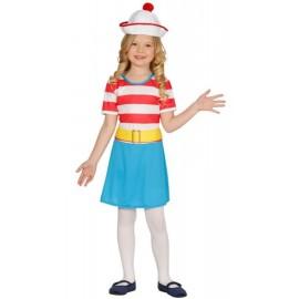 Disfraz Exploradora Wally Infantil Niña