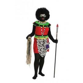 Disfraz Africana Adulto Mujer