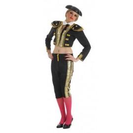 Disfraz Torera Negro Adulo Mujer