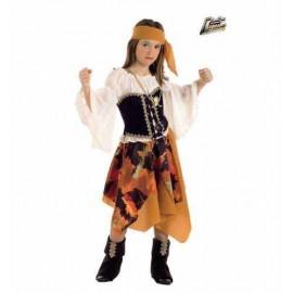 Disfraz Pirata Malvada Infantil Niña