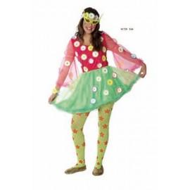 Disfraz Princesa Primavera Adulto Mujer