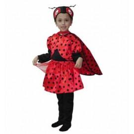 Disfraz Mariquita Infantil Niña