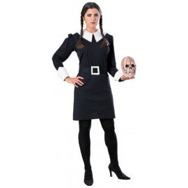Disfraz Wednesday Adulto Halloween (familia Addams)
