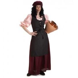 Disfraz Mesonera Medieval Adulto Mujer
