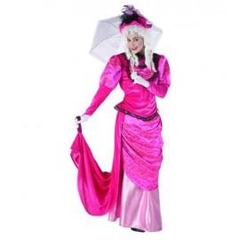 Disfraz de Dama Rosa Adulto Mujer