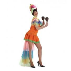Disfraz de Brasileña Adulto Mujer