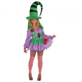 Disfraz Duendecilla verde Adulto Mujer