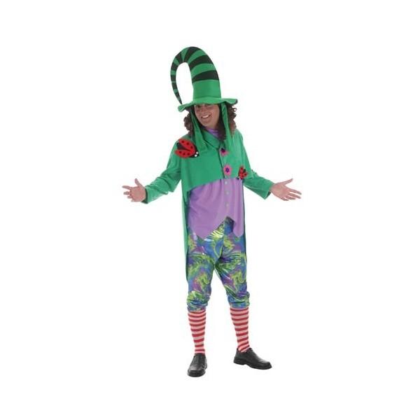 Disfraz Duende Verde Adulto Hombre