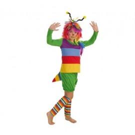 Disfraz de Gusanita Infantil Niña