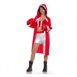 Disfraz de Boxeadora Lady Adulto Mujer