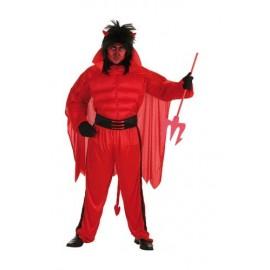 Disfraz Diablo Rojo Adulto Hombre