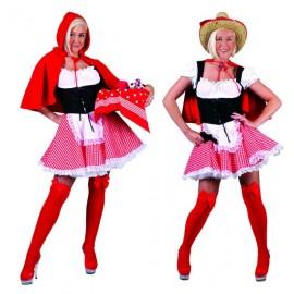Disfraz Caperucita Roja Sexy Adulto Mujer