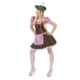 Disfraz de Tirolesa Sexy Adulto Mujer