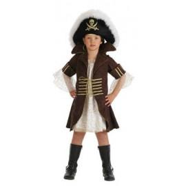 Disfraz Pirata Bucanera Infantil Niña
